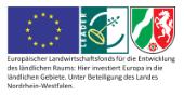 Logo: Europäischer Landwirtschaftsfonds für die Entwicklung des ländlichen Raums